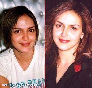 artis sesudah dan sebelum di make up